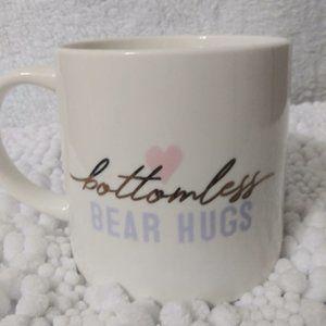 "Threshold Porcelain ""Bottomless Bear Hugs"" Mug"